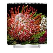 Exotic Bouquet Shower Curtain
