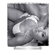Exotic Hot Woman Shower Curtain