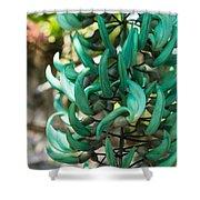 Exotic Jade Vine Shower Curtain