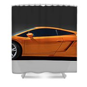 Exotic Lamborghini  Shower Curtain