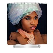 Exotic  Shower Curtain