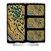 Exotic Repetitions Shower Curtain