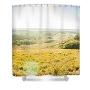 Expansive Open Plains Shower Curtain
