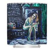 Expectancies Shower Curtain