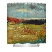 Expecting A Storm  Shower Curtain