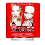 Expendable Poster Shower Curtain