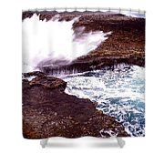 Exploding Nature Shower Curtain