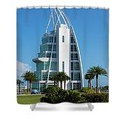 Exploration Tower Florida Shower Curtain