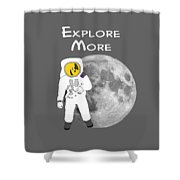 Explore The Universe Shower Curtain