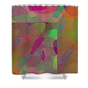 Explore Transdimensions Angle 44 Shower Curtain