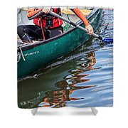 Exploring Along The Exeter Canal Shower Curtain
