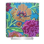 Exploring Blooms Shower Curtain
