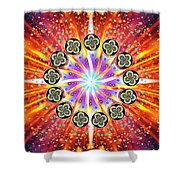 Explosion Of Emotions Shower Curtain