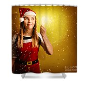 Explosive Christmas Gift Idea Shower Curtain