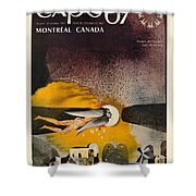 Expo 67 Shower Curtain