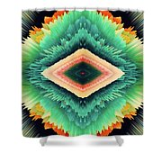 Exponential Flare Shower Curtain