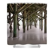 Exposed Structure Shower Curtain