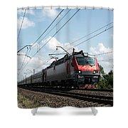 Express Train Shower Curtain