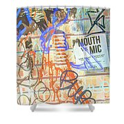 Expressed So Inverted Shower Curtain
