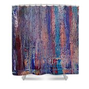Expression # 9 The Blues Down And Out Shower Curtain