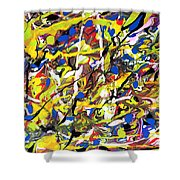 Expression 5 Shower Curtain