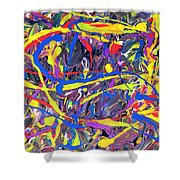 Expression 6 Shower Curtain