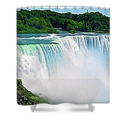 Expressionalism Niagara Falls 12 Shower Curtain