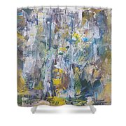 Expressionalism Shower Curtain