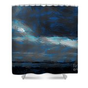 Expressionist View Iv Shower Curtain