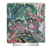 Expressions Of Life Shower Curtain