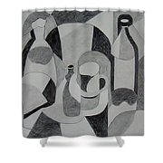 Extended Line Shower Curtain by Jamie Frier