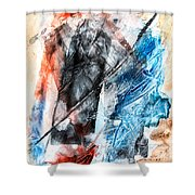 Extract 4 Shower Curtain