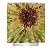 Extreme Dandelion Shower Curtain