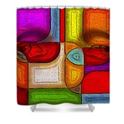 Eye Abstract Shower Curtain