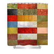Eye Candy Shower Curtain by Michelle Calkins