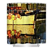 Eye Catching Colors  Shower Curtain