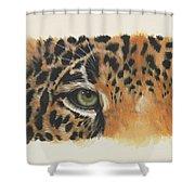 Eye-catching Jaguar Shower Curtain