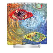 Eye For Eye Shower Curtain