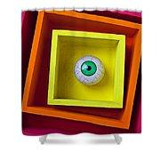 Eye In The Box Shower Curtain