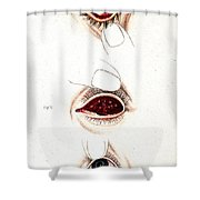 Eye Inflammations, Historical Shower Curtain