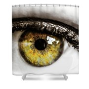 Eye Macro3 Shower Curtain