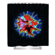 Eye Of Andromeda Shower Curtain