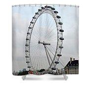 Eye Of London I Shower Curtain