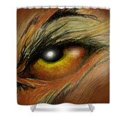 Eye Of The Beast Shower Curtain