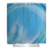 Eye Of The Ocean Shower Curtain