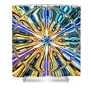 Eye Of The Portal 7th Dimension Activation 4 Shower Curtain