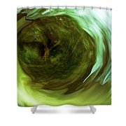 Eye Of The Storm Shower Curtain