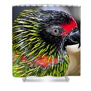 Eye Of The Tropics Shower Curtain