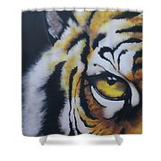 Eye Of Tiger Shower Curtain