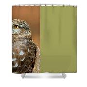 Eye On The Fuchsia Shower Curtain